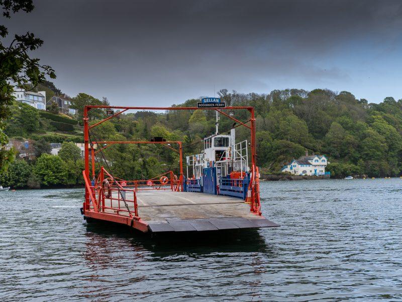 Fowey to Bodinnick car ferry