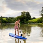 Paddleboarding on Penpoll Creek