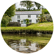 A riverside family holiday cottage near Fowey, Cornwall
