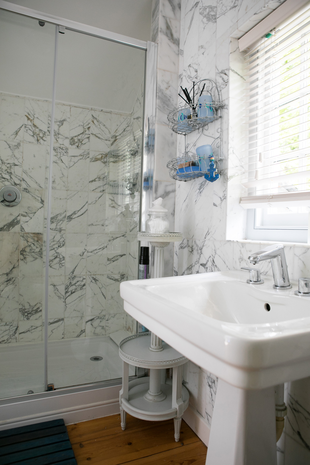 Ensuite shower room from bedroom 4